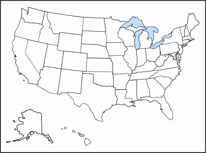 15 Blank Us Map Printable Pdf | Highlighting in 2018 | Pinterest ...