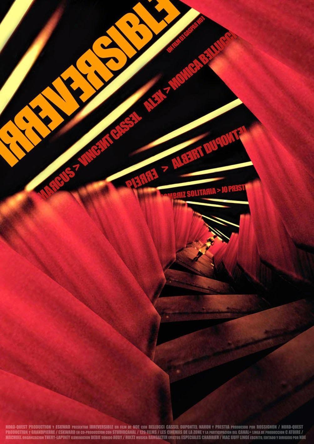 Irreversible 2002 Cine Frances Carteles De Cine Cine
