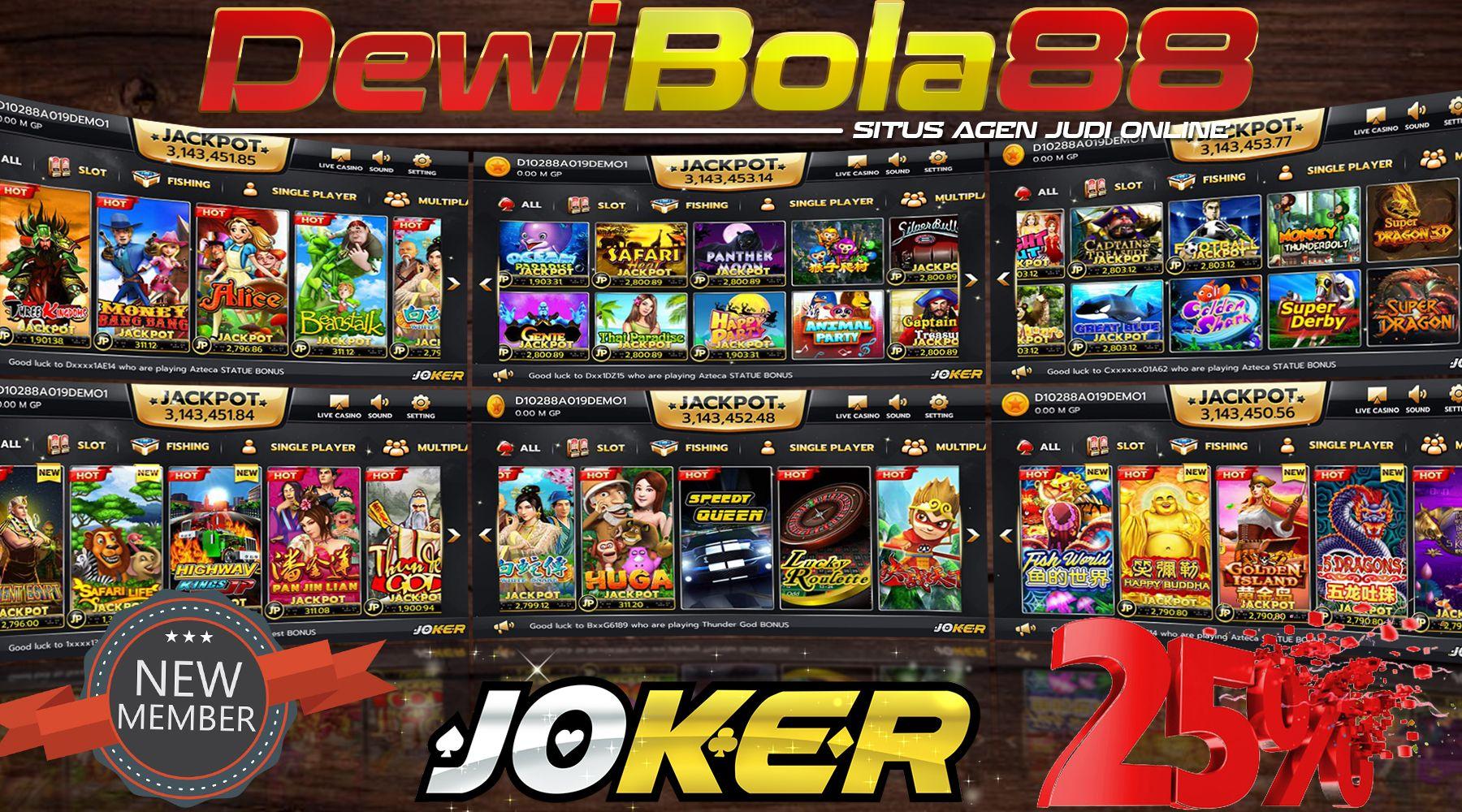 Bonus New Member Slot Online Terpercaya 100 Ruang Permainan Dewi Mainan
