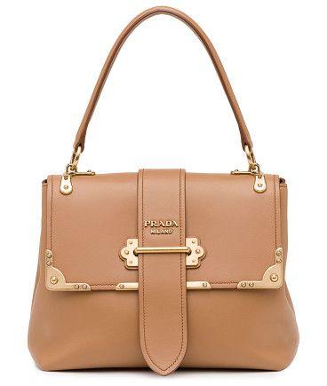 Prada Cahier Top Handle Bag Leather Medium 7gOJaTvugc
