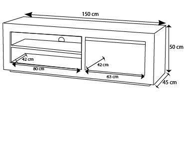 redoutable meuble tv dimension - Meuble Tv Dimension