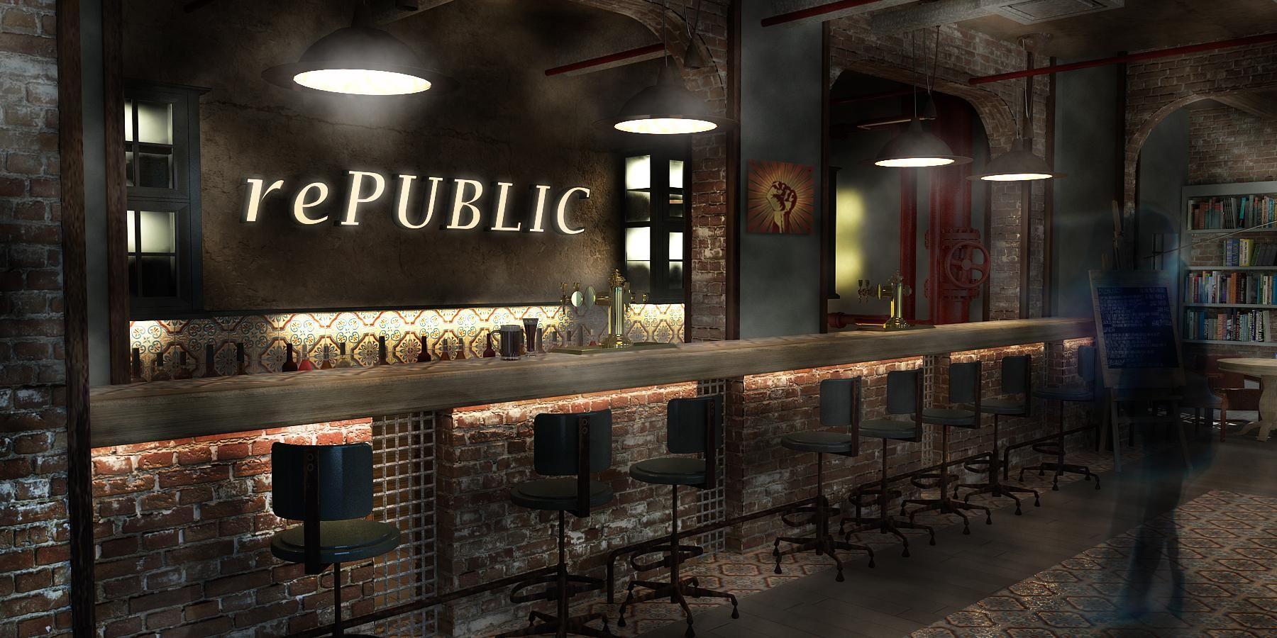 Pub Interior Design Republica