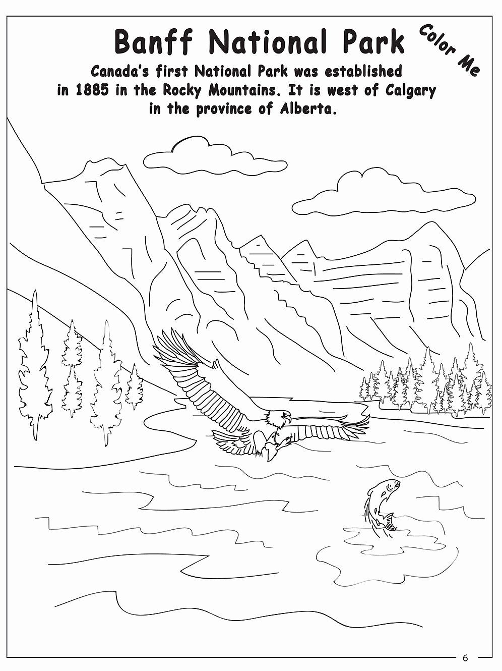 National Parks Coloring Book Inspirational Oh Canada Activity Ebook Download Anatomy Coloring Book Books For Teens Words Coloring Book