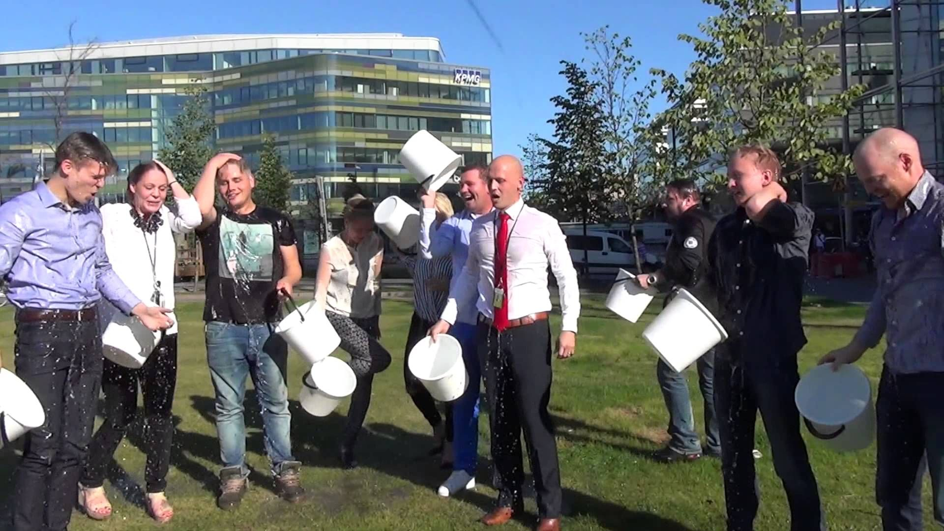 We participated in #alsicebucketchallenge and donated 500€ to Lihastautiliitto. We nominated Monster in Finland, Oikotie, Uranus, Talentum Media and Forenom Finland!