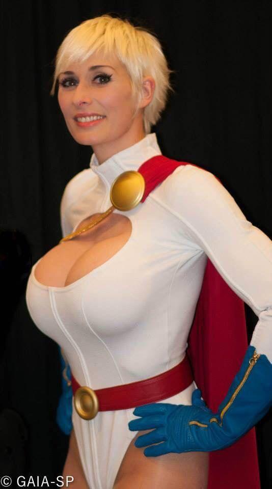 Power Girl Cosplay Costume