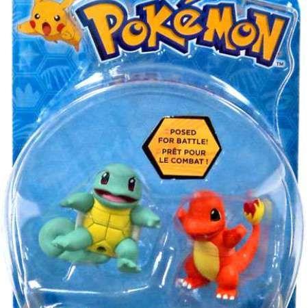 Wal Mart USA LLC Pokemon Action Pose Squirtle Vs Charmander 2