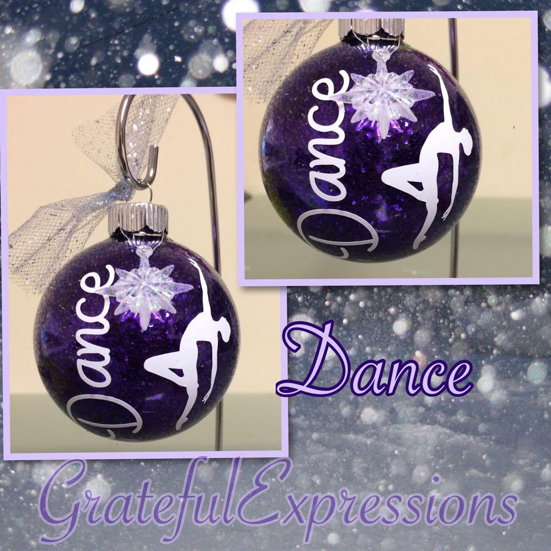 Dance Ornament Glitter Ornament Dance Dancer Jazz Ballet Tap Hip Hop Dance Gift Co Dance Christmas Ornaments Dance Ornaments Christmas Ornament Crafts