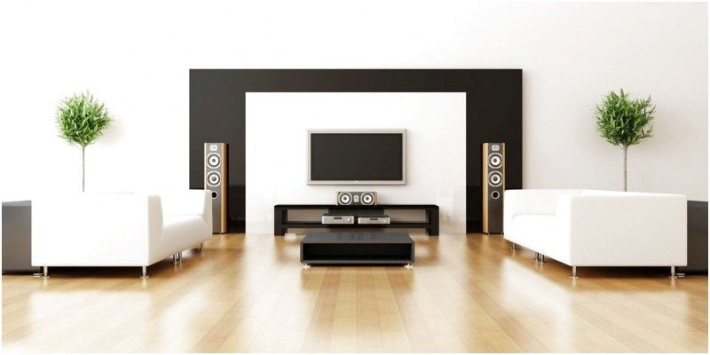 Minimalist Home Theater Design With Great Audio In 2020 Minimalist Interior Design Modern Living Room Interior Minimalist Furniture