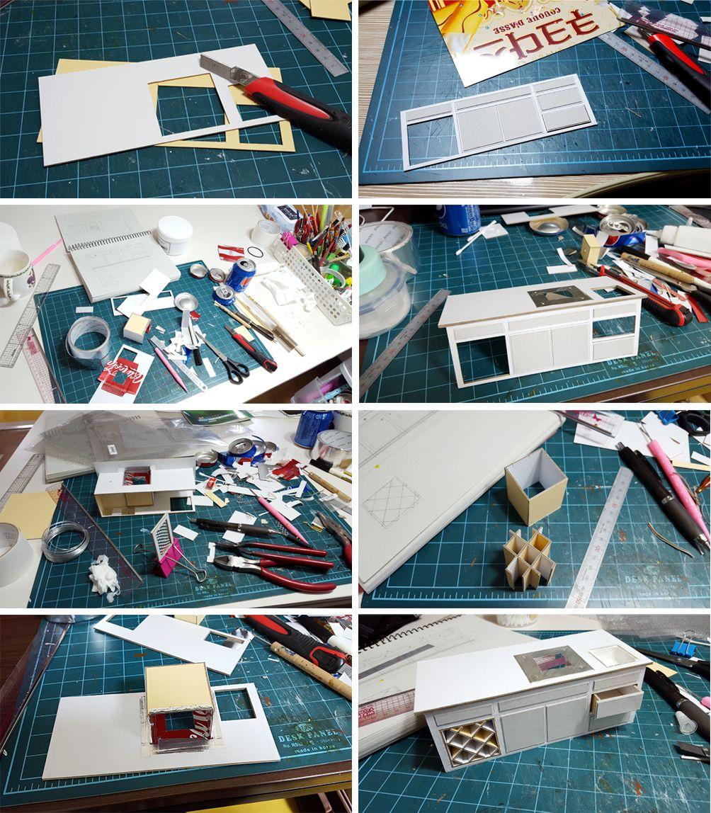 Dollhouse Miniatures Diy Tutorials: Puppenhausmöbel