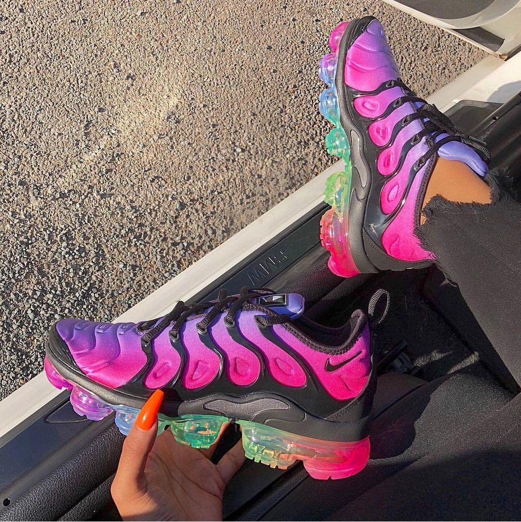 Vapormax Plus Rainbow Passion | Sneakers fashion, Sneakers