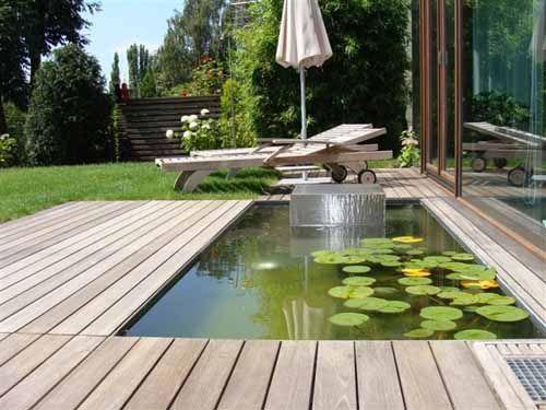 Wasserbecken im garten europeaid wasserbecken garten - Tauchbecken im garten ...