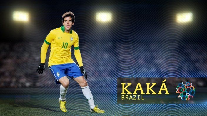 Kaká's faith has been his foundation as he rose to fame around the world.