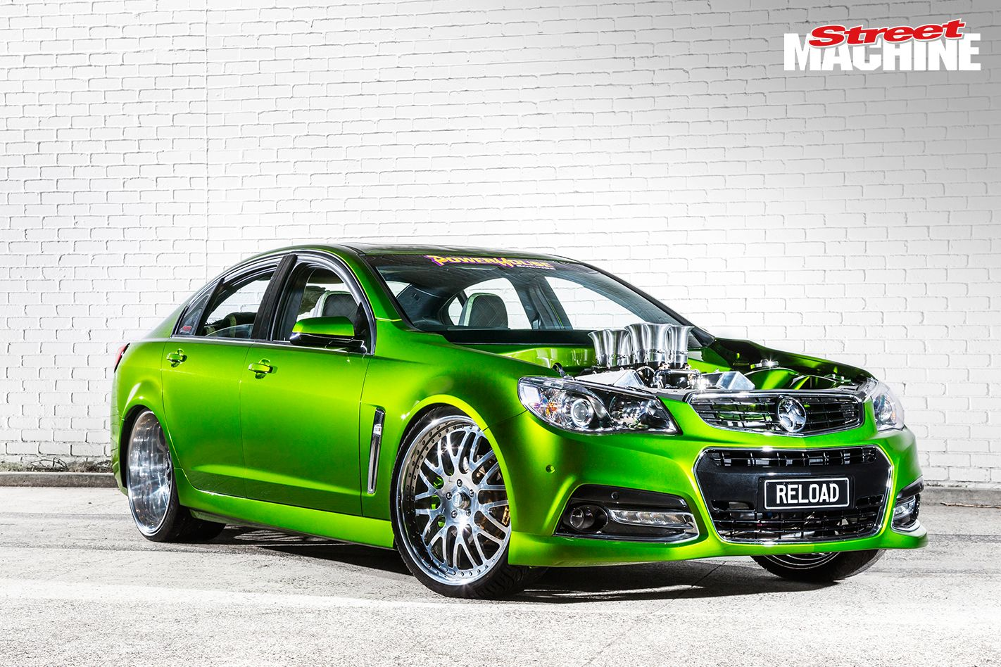 Steven Loader Resets The Matrix With All Motor Tyre Frying Reload Vf Commodore