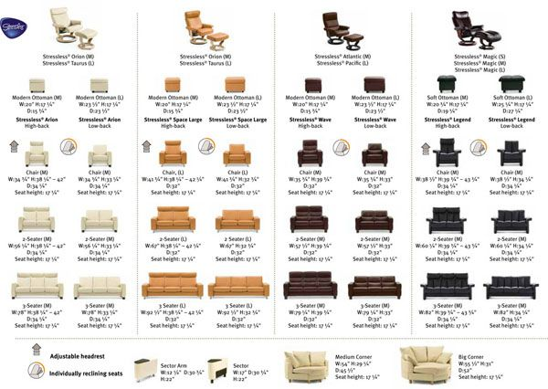 stressless recliner chair dimensions layouts in 2018 recliner