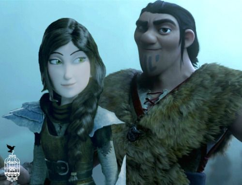 Heathret eret and heather from httyd 2dreamworks dragons series eret and heather from httyd 2dreamworks dragons series totally xd ccuart Gallery