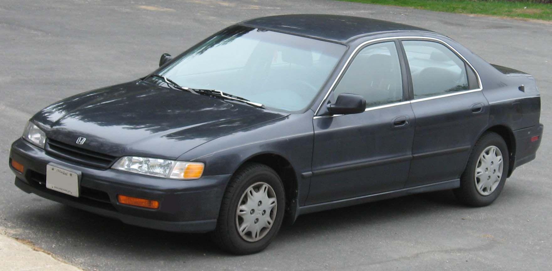 19941995 Honda Accord. Honda accord, Honda, Fun facts