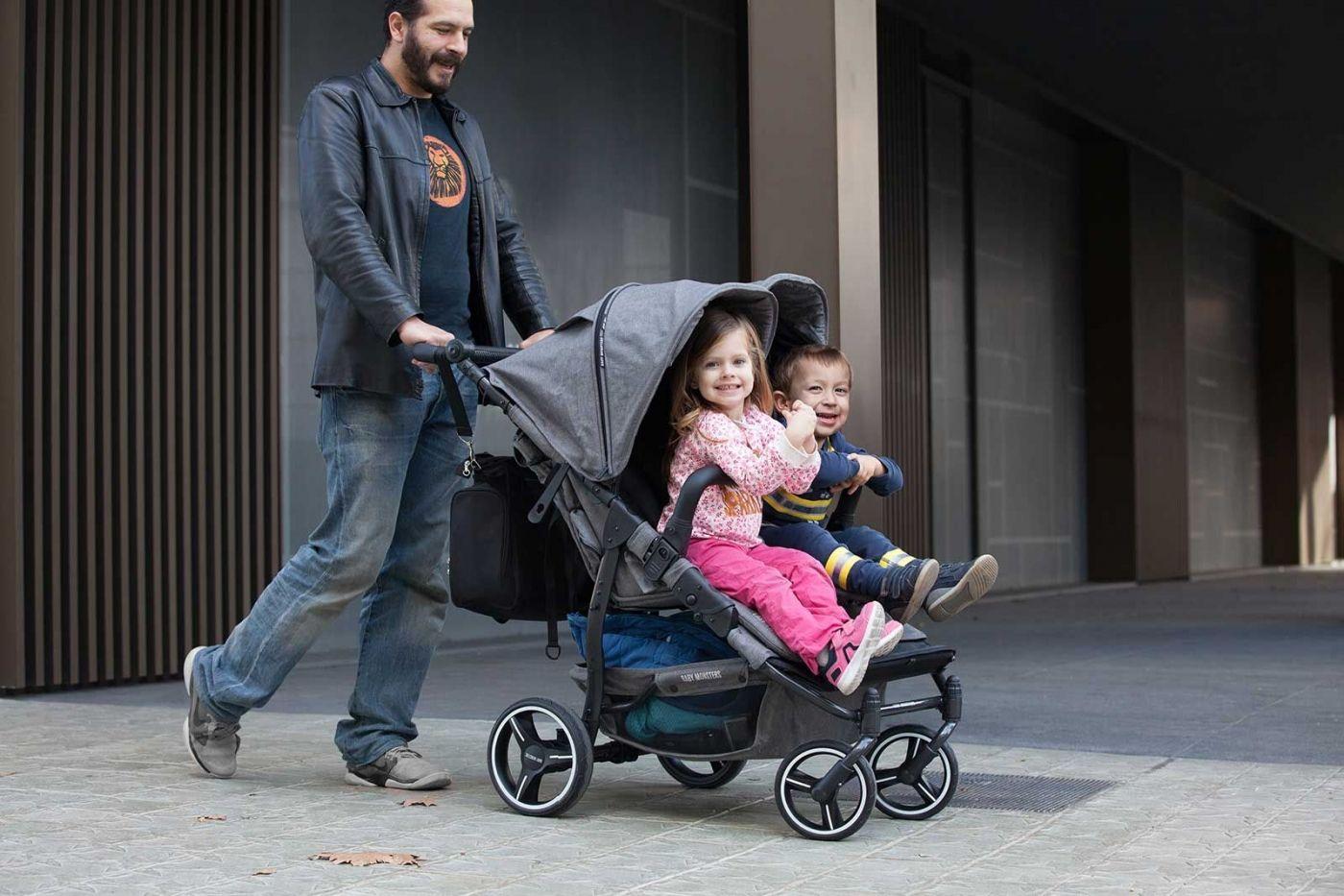 Focus sur la poussette double Easy Twin 3.S de Baby Monsters (MAJ ...