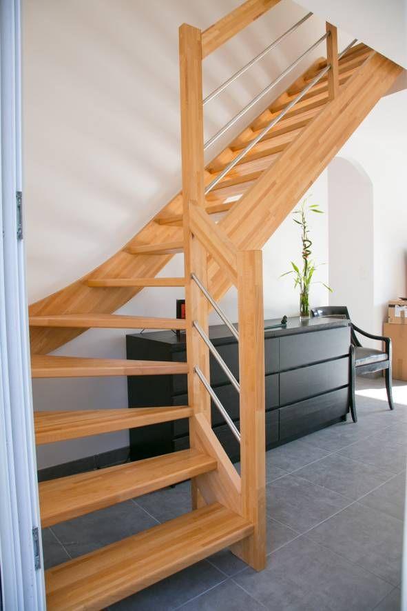 Escalier Deco En Kit Vente D Escalier En Kit Sur Mesure A Bordeaux Cote Escalier Escalier Escaliers Maison Escalier En Kit