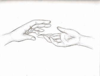 Resultado De Imagen Para How To Draw Hand Reaching Out Drawlings