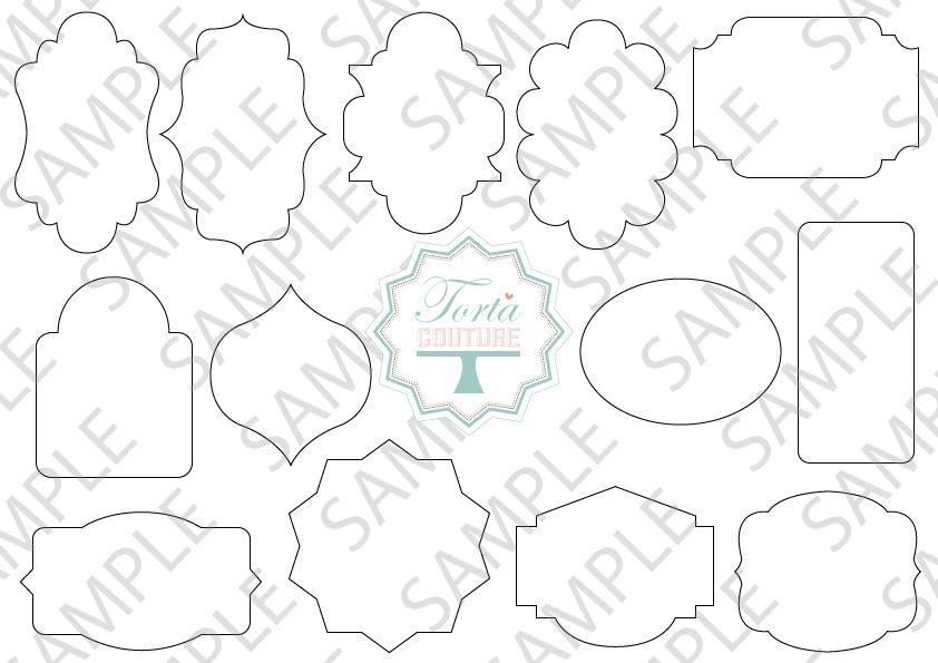 Plaque template for cake google search cake decorating for Arrowhead plaque template