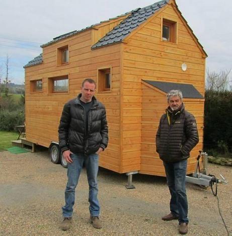 maison en bois qui roule