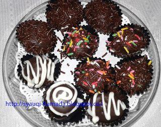 Cara Membuat Bola Bola Coklat Dari Biskuit Marie Resep Kue Kue Kering Makanan
