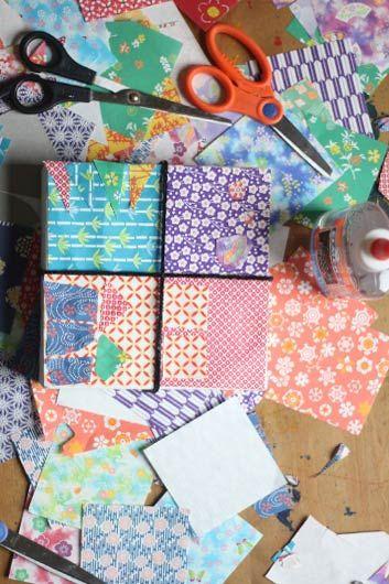 Paper Quilt Idea Based Off The Children S Book Show Way Kids Art