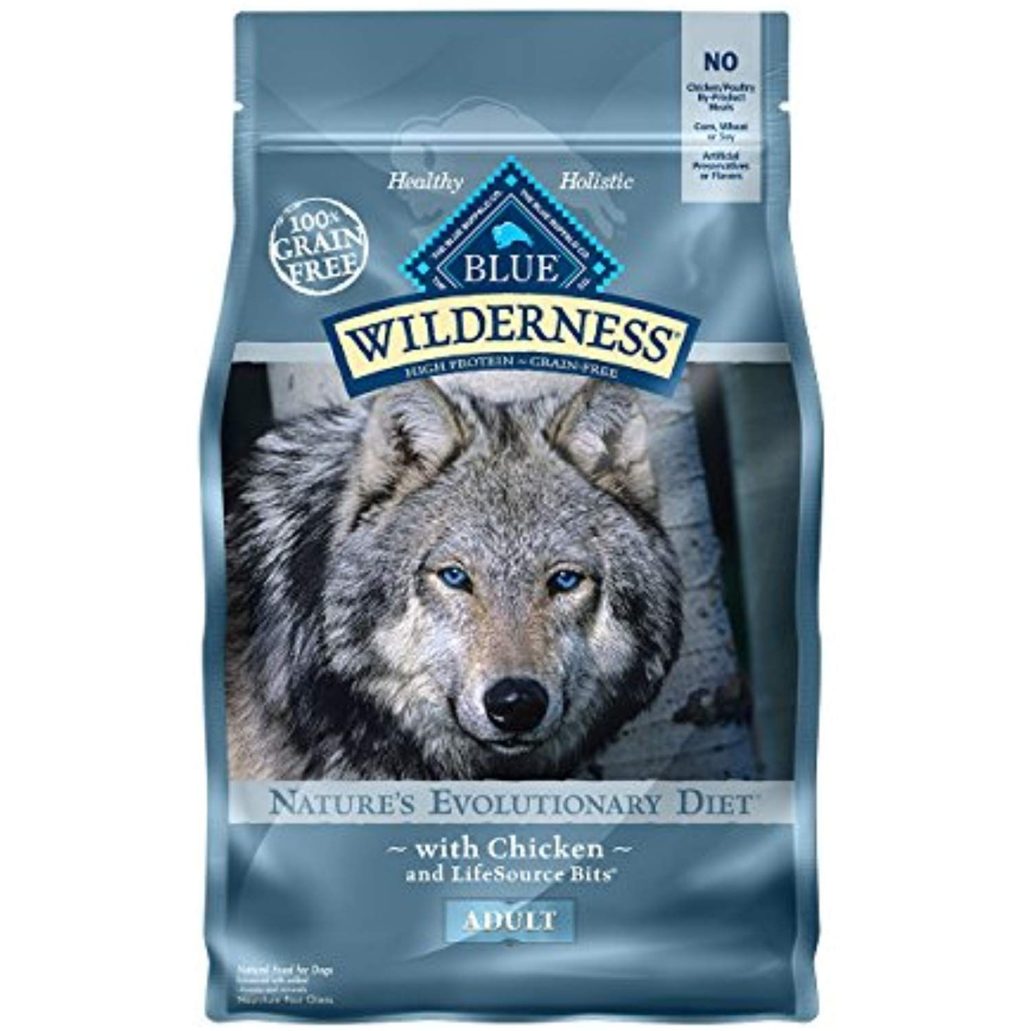 Blue Buffalo Wilderness High Protein Grain Free Natural Adult Dry