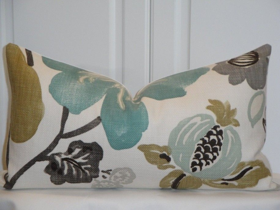 Fabric Painting Designs | Decorative Pillows For Bed With Various Ideas :  Canvas Fabric Painted .