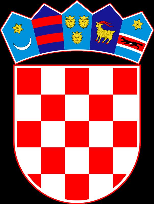 Brasão de armas da Croácia