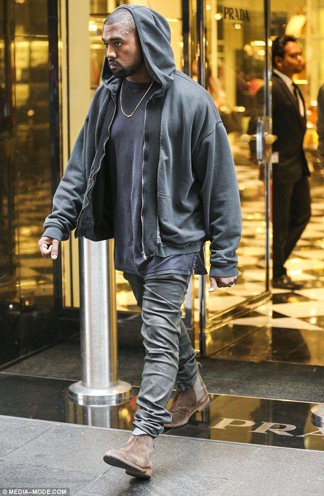 Kanye West Shops Alone In 2020 Kanye West Outfits Kanye West Style Kanye Fashion