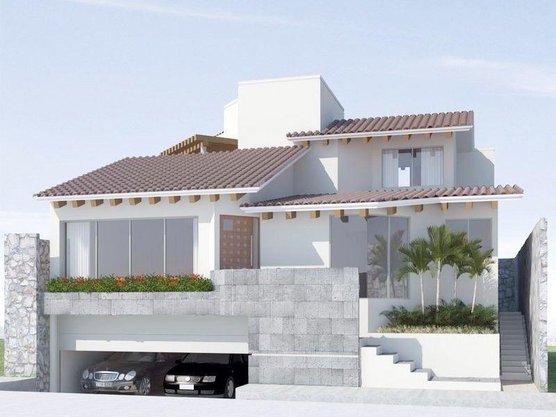 20 jpg 800 600 pqque pinterest casas for Casas minimalistas modernas con cochera subterranea