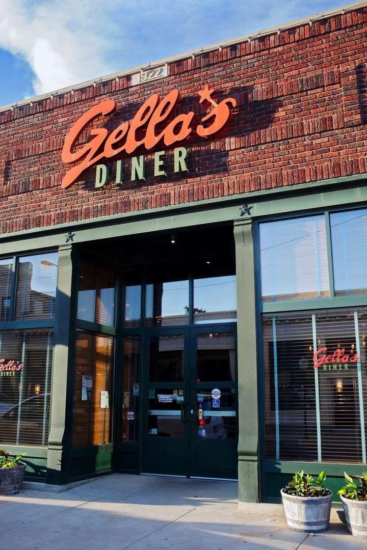 Gellas diner in hays kansas is a modern diner that