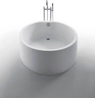 Dana Round Bathtub   Modern   Bathtubs   Dallas   By The Interior Gallery