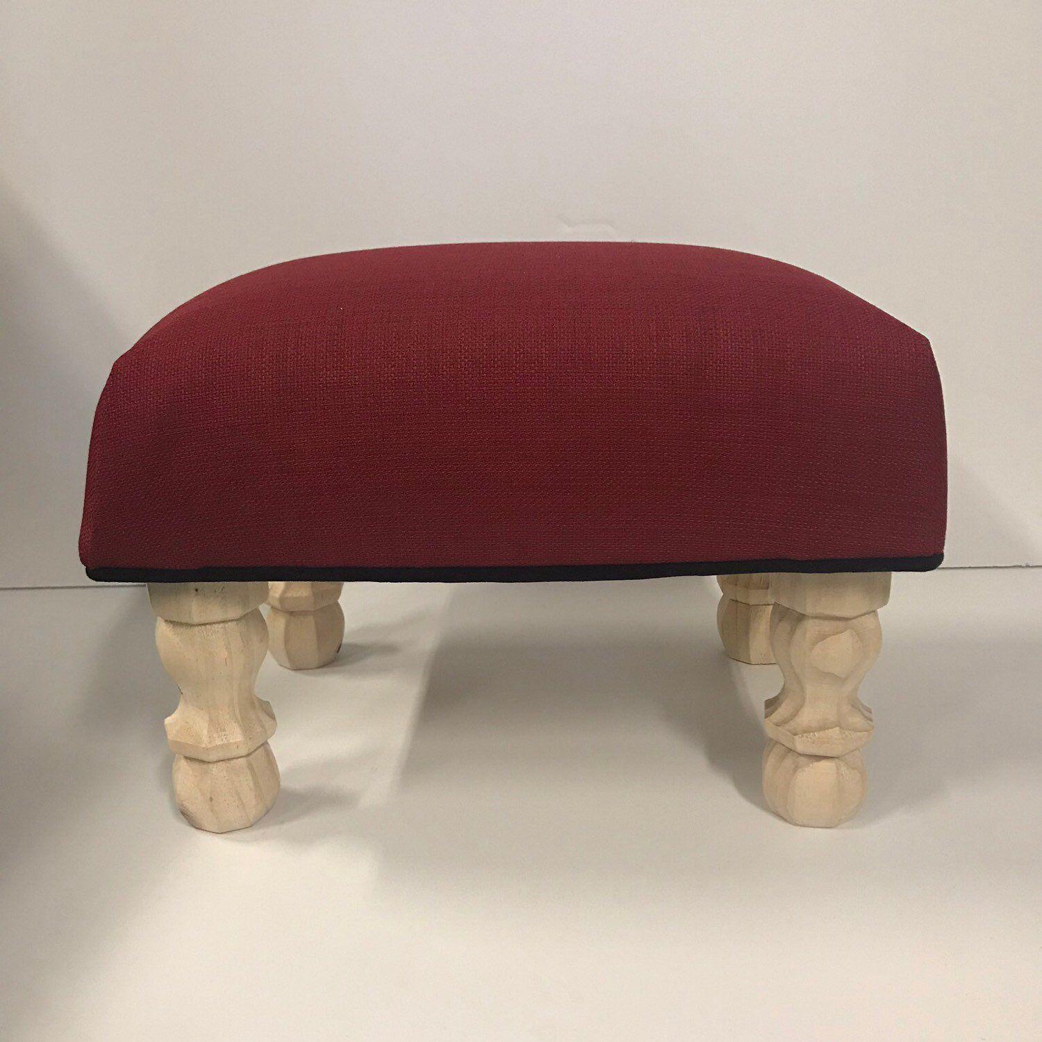Our Holiday Winter Diy Footstool Kit Great Gift For Your Diy