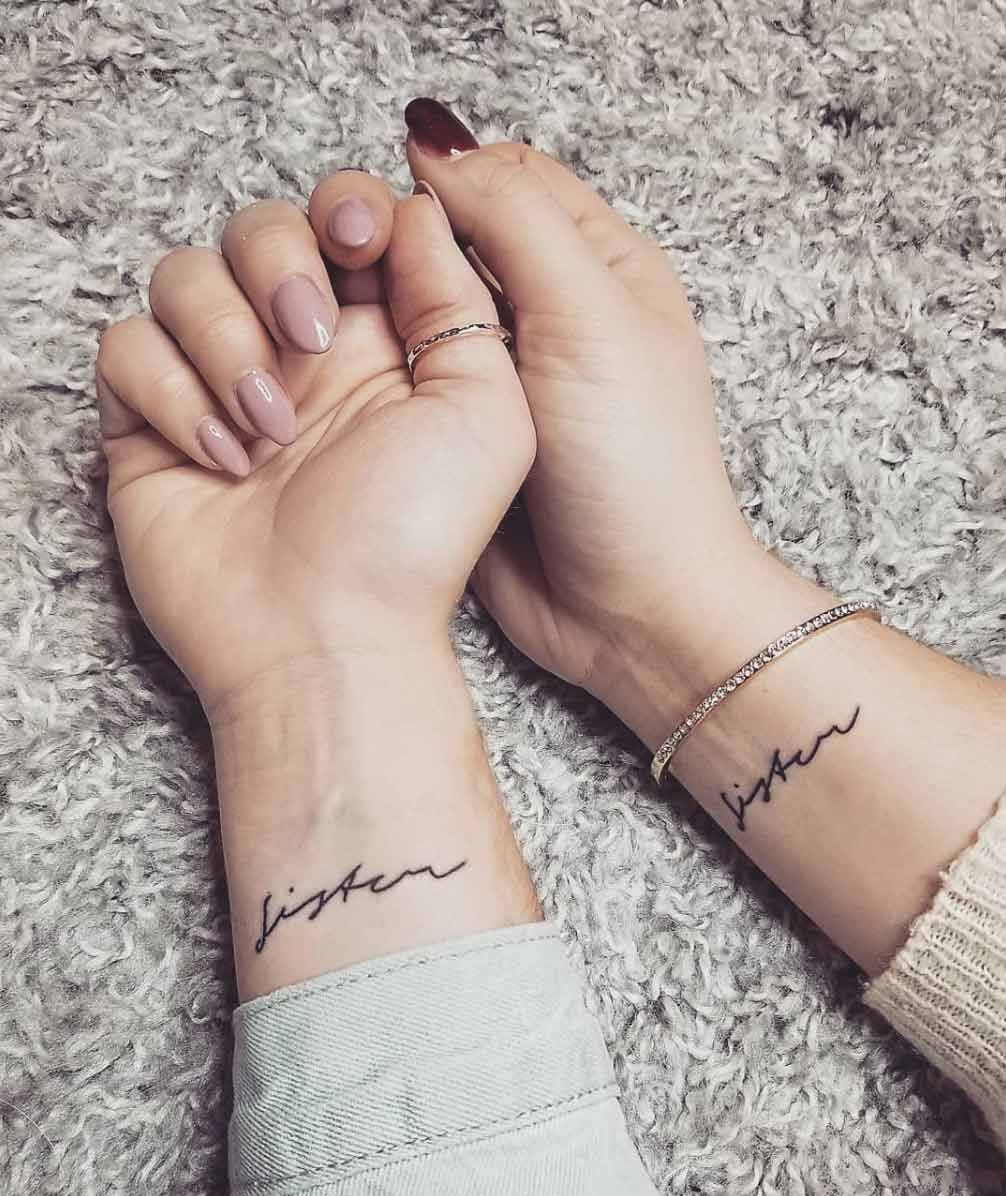 80 Sister Tattoos That Will Melt Your Friggin' Heart - Page 8 of 8 - Straight Blasted