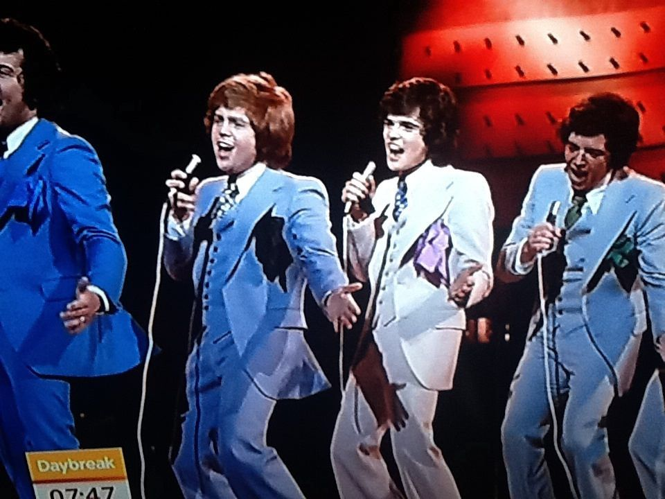 The Osmonds in London, UK for oneweek long live
