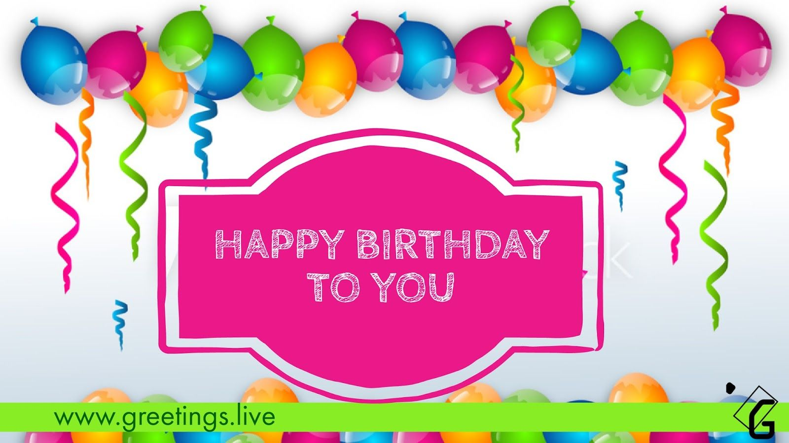 Happy birthday Wishes HD Quality | Greetings Live | Happy