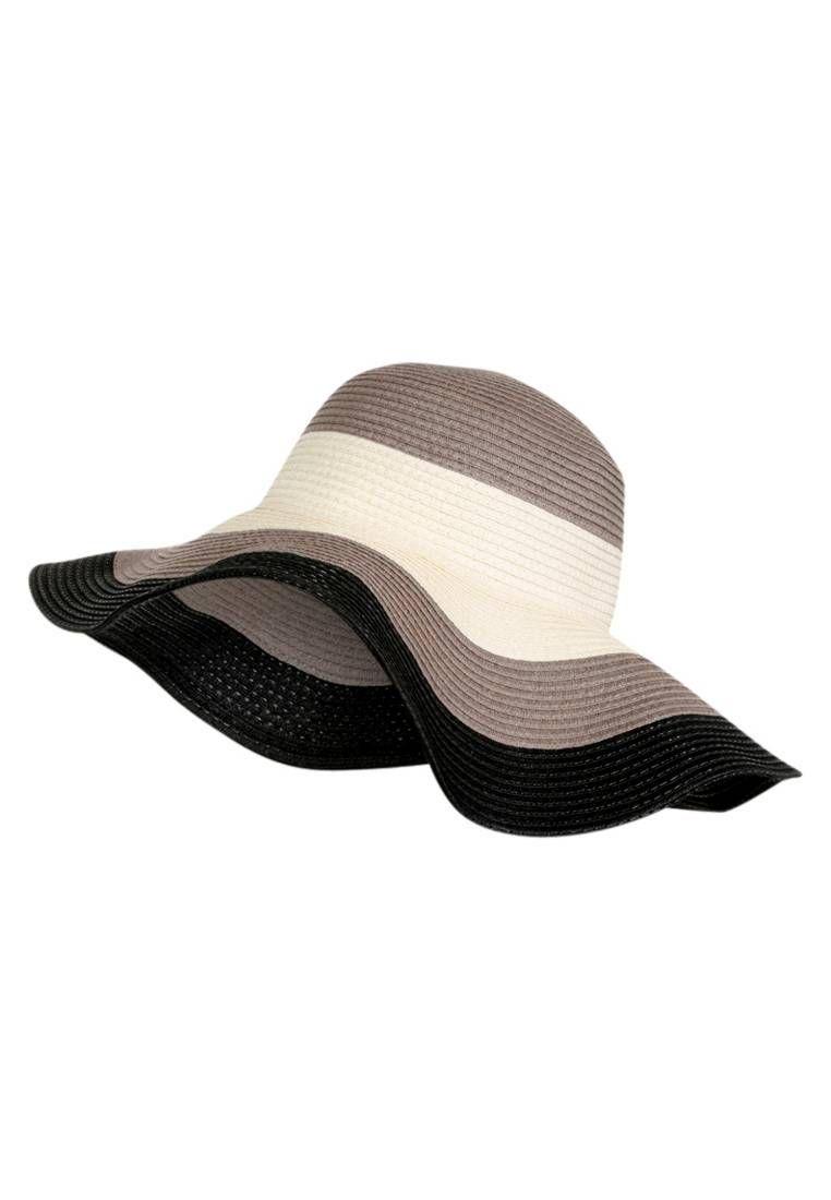 Trussardi Jeans. Cappello - black beige.  panama  cappelli  cappelliestivi   c85d3e665d4c