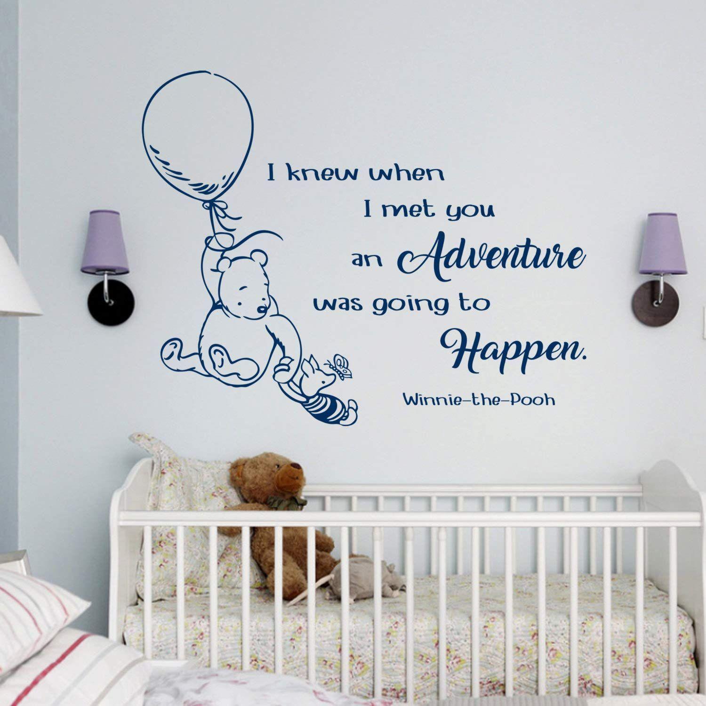 Disney Wall Decals Winnie The Pooh Wall Decals Classic I Knew
