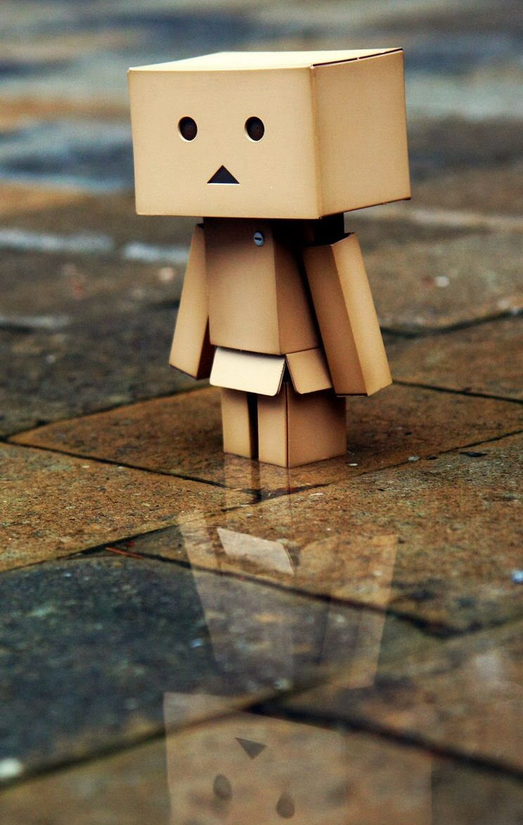 Amazon Box Danbo Robot Wallpaper Amazon Box