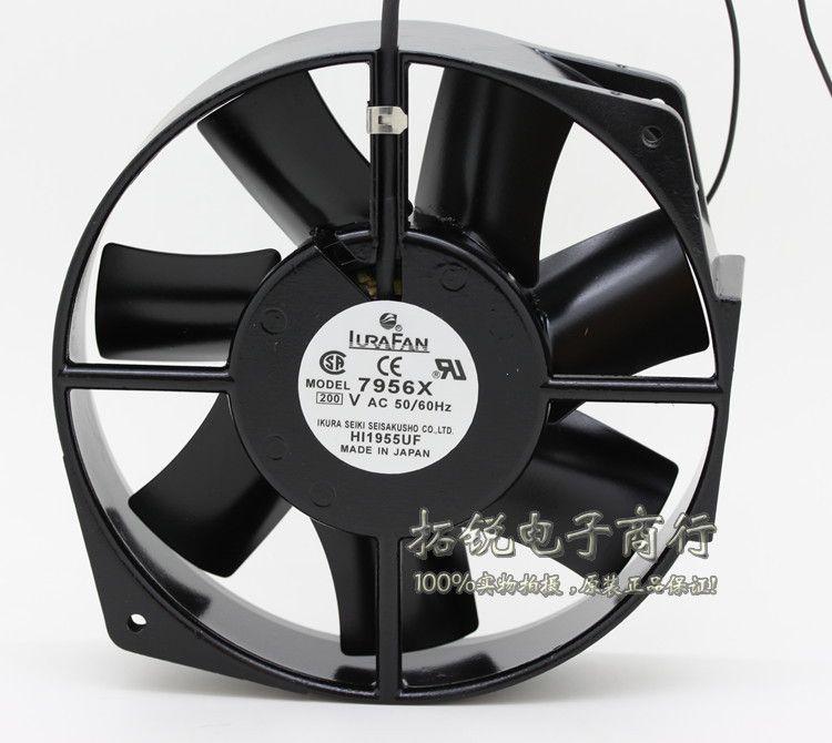 Ikura Fan 7956x 17cm 17050 200v 50 60hz Full Metal Fan Metal Fan