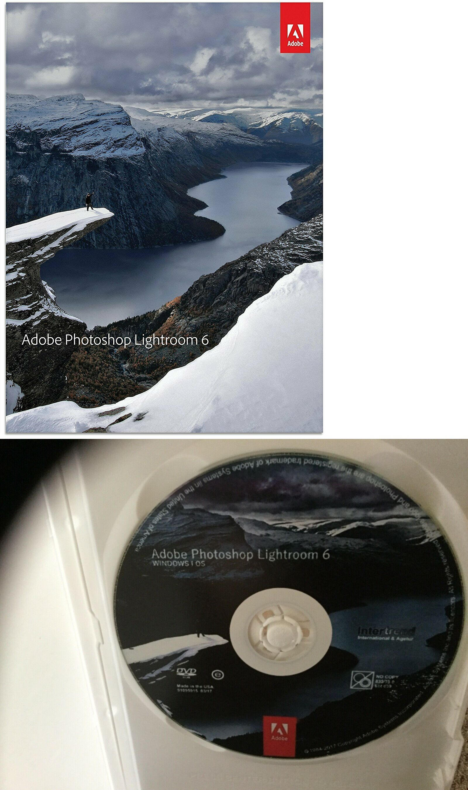 Wholesale Lots 159260 Photoshop Lightroom 6 Dvd Buy It Now