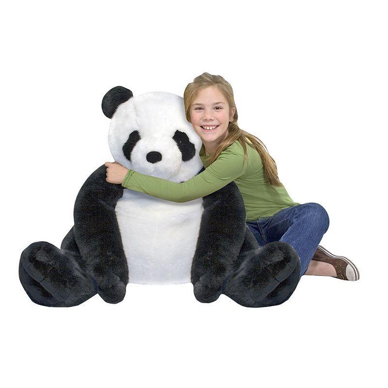 Melissa Doug Plush Panda Giant Plush Panda Stuffed Animal