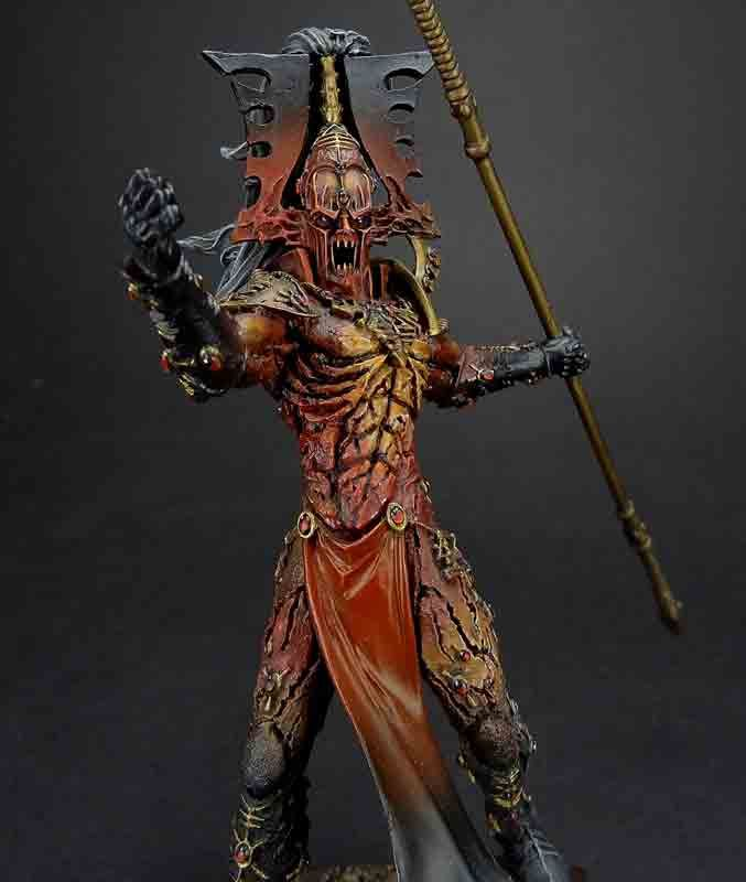 Matt Sterbenz Miniature Painting Forge World Avatar: An Avatar Of Khaine You Would Truly Fear...