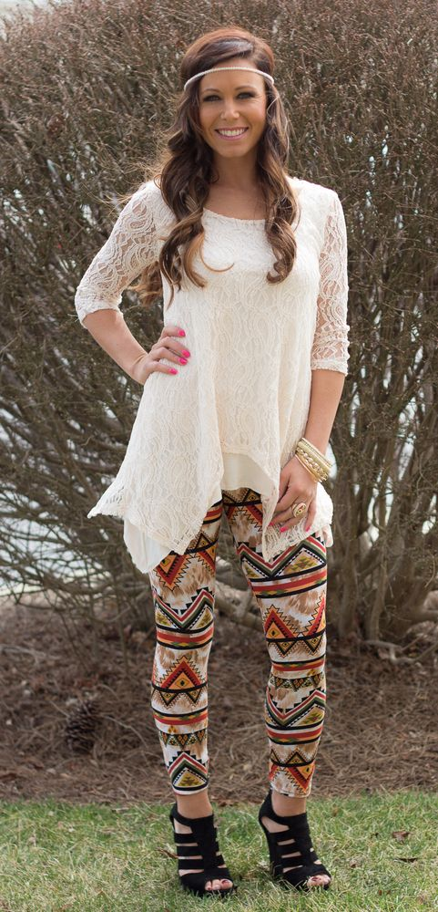 Modern Vintage Lace Tunic