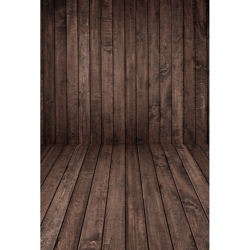 On sale US $1133 120G Vinyl photography backdrops Dark Brown Wooden