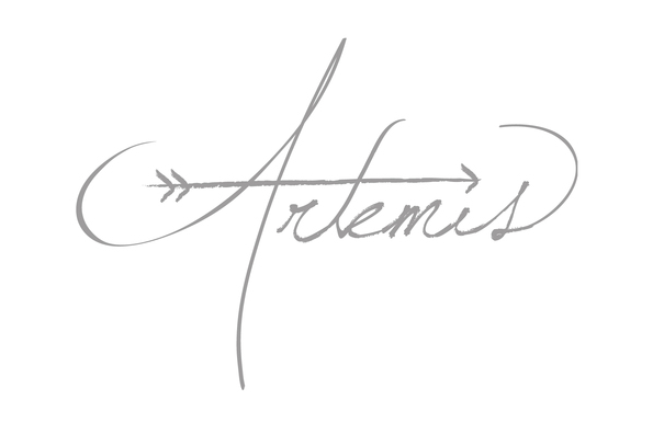 Potential Logo Artemis Is The Greek Goddess Of The Hunt Moon