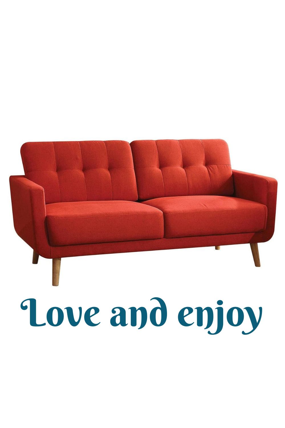 Major-Q contemporary sofa set includes a sofa and a love seat. it intersects the midcentury and today. This collection features selected linen fabric upholstery, tufted Buttonless backrest and natural wooden tapered legs. Bring home this collection, you will enjoy the comfortable seating and stylish look. #decorativesofa #luxurysofa #sofainspiration #bestsofa #coolsofa #sofaideas #sofastyles #lovesofa #sofadecoration