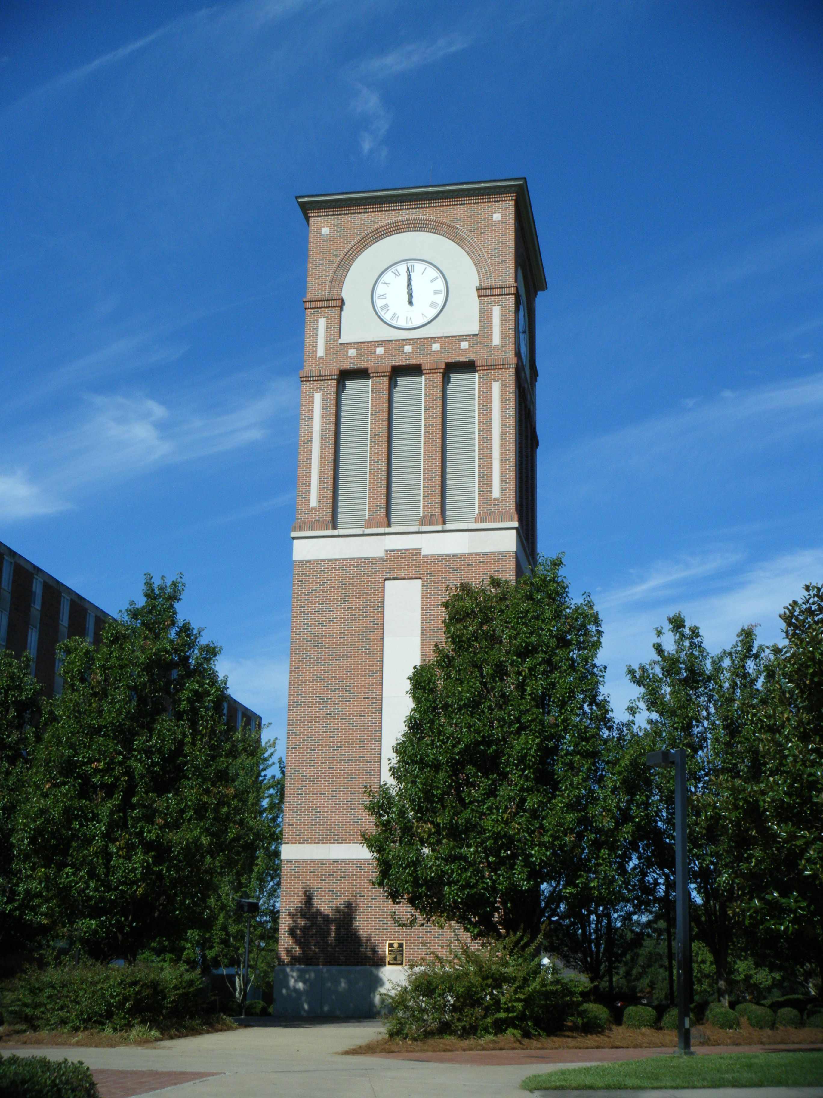 Louisiana Tech University Clock Tower Louisiana tech